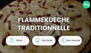 Flammekueche traditionnelle