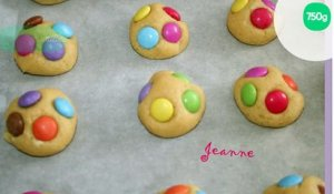 Cookies aux smarties inratables