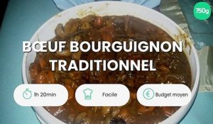 Bœuf bourguignon traditionnel