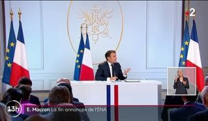 Emmanuel Macron souhaite la suppression de l'ENA