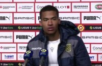 Lafont : « On a quelques regrets » - Foot - L1 - Nantes