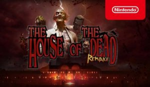 THE HOUSE OF THE DEAD: Remake - Announcement Trailer - Nintendo Switch