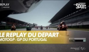 Le replay du départ de la course de Quartararo