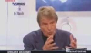 Internationales : Bernard Kouchner - moments forts
