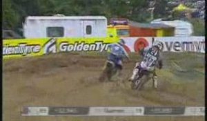 Rattray prend la 1ere place en Moto cross mx2