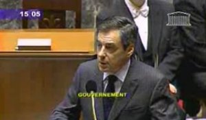 F.Fillon Réforme des institutions