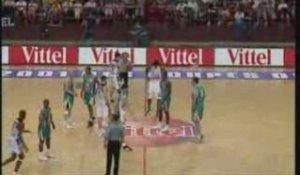 ASVEL vs. Pau-Orthez - Finale Coupe de France de Basket 2001