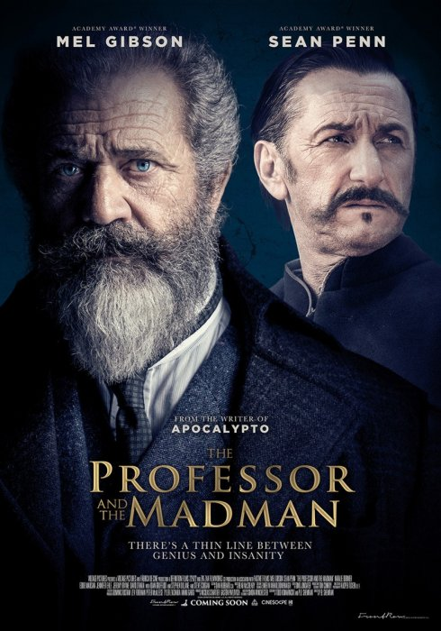 The Professor And The Madman : Affiche