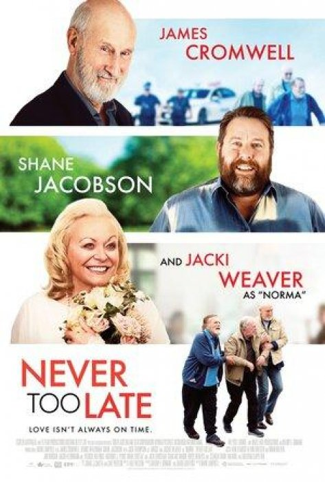 Never Too Late : Affiche