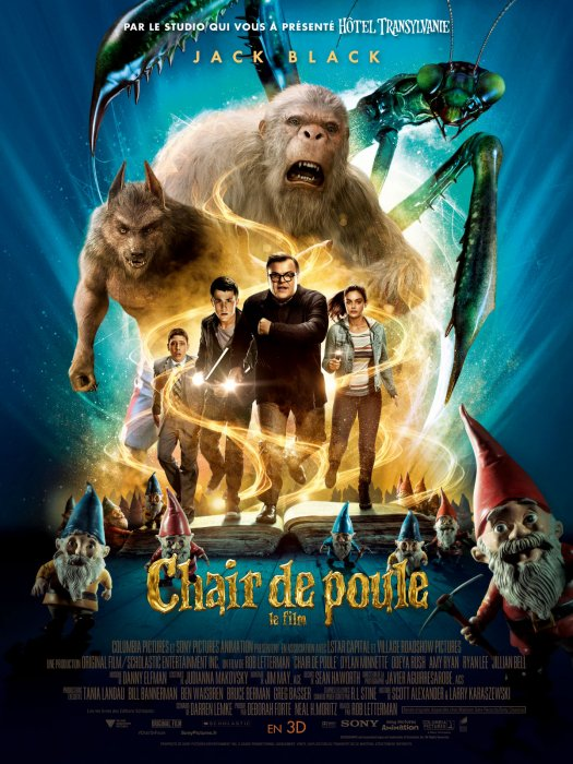 Chair de Poule - Le film : Affiche
