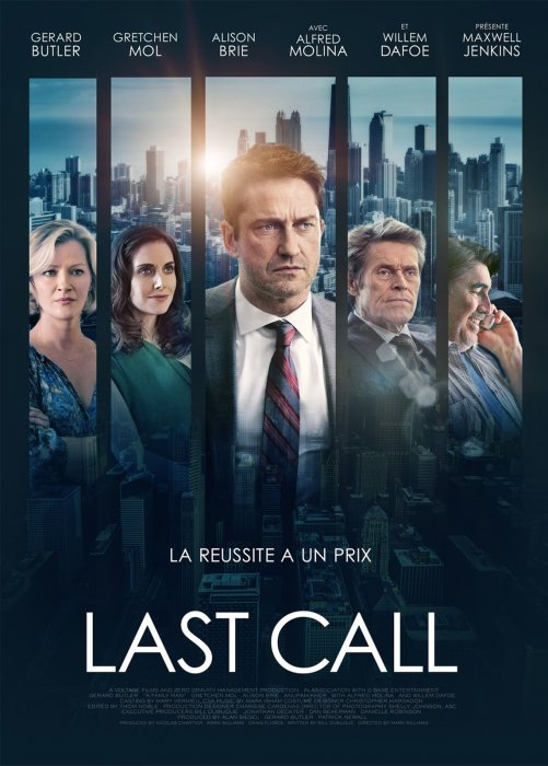 Last call : Affiche