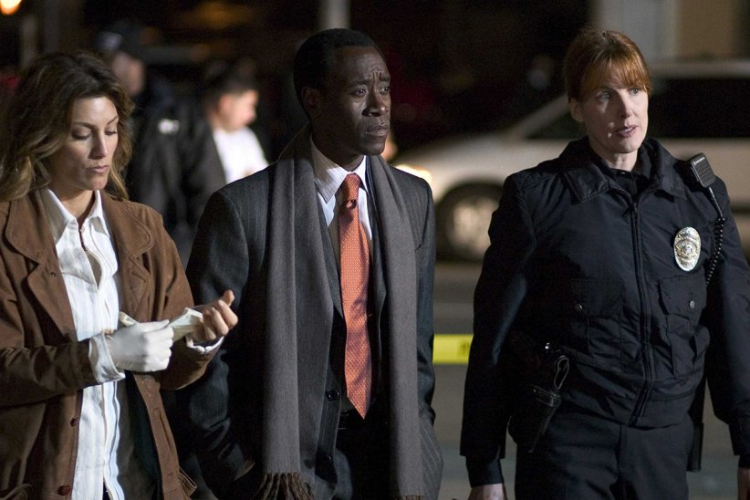 Collision : Photo Don Cheadle