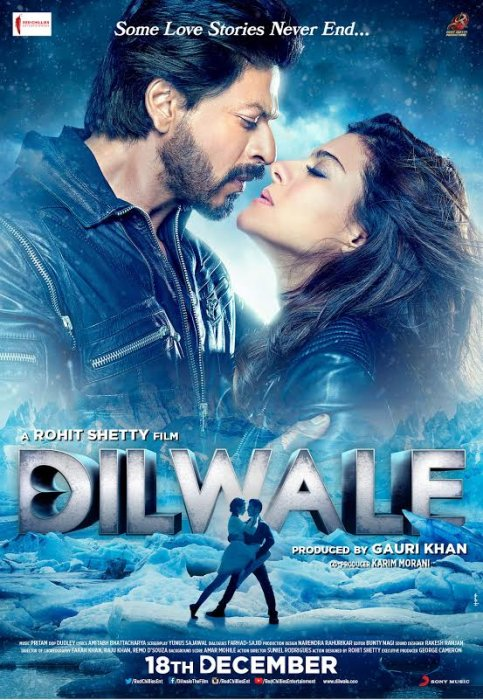 Dilwale : Affiche