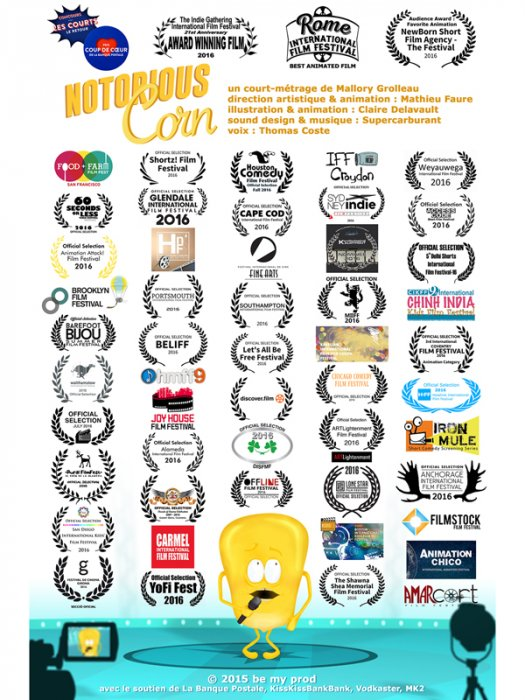 Notorious Corn : Affiche