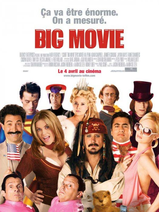 Big Movie : Affiche Aaron Seltzer, Jason Friedberg