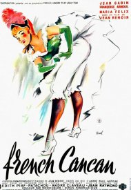 Affiche de French Cancan