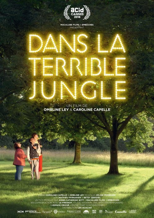 Dans la terrible jungle : Affiche