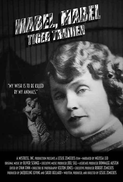 Mabel, Mabel, Tiger Trainer : Affiche