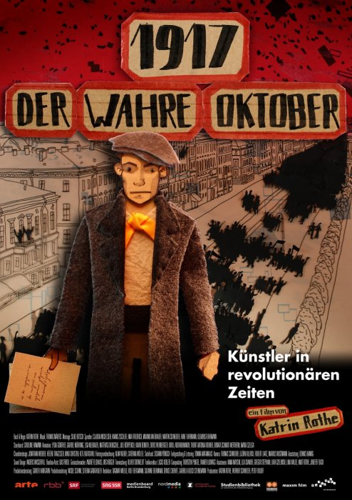 1917 - The Real October : Affiche