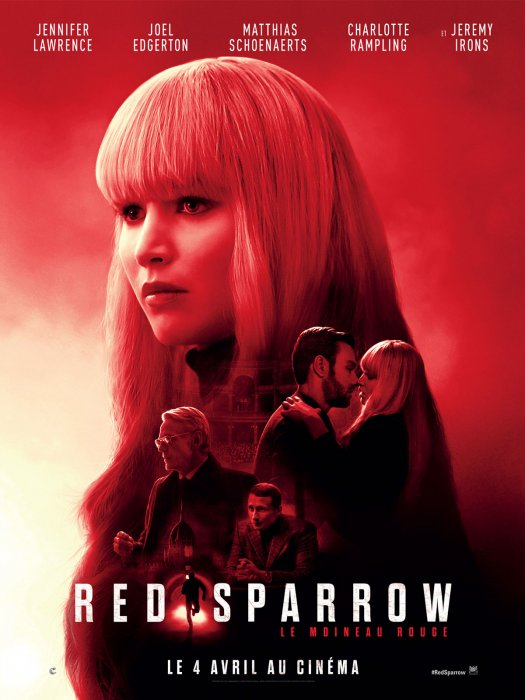 Red Sparrow : Affiche