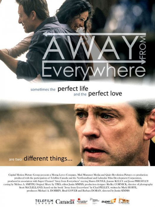 Away from Everywhere : Affiche