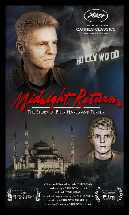 Midnight Returns: The Story of Billy Hayes and Turkey : Affiche