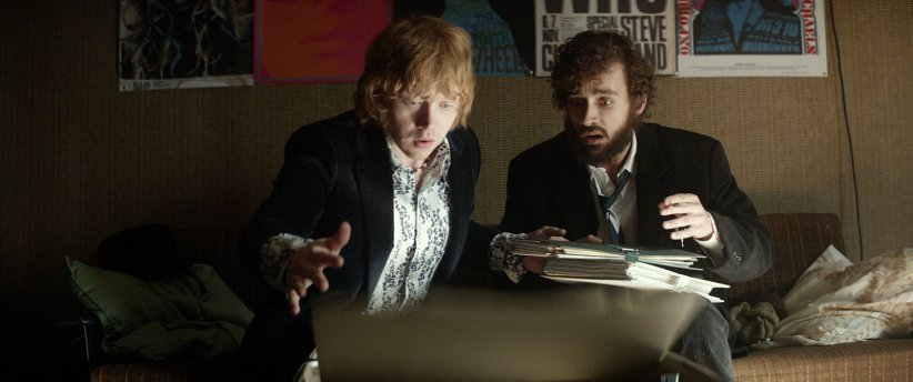Moonwalkers : Photo Robert Sheehan, Rupert Grint