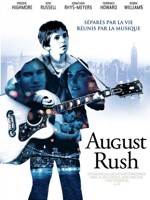 psychology august rush 2016-3-16 august rush is a heartwarming film about music and the strong ties in the family unit of father-mother-child life theme: openness to life repairs the brokenness of society the family is the basic building block of society every child deserves to have both a.