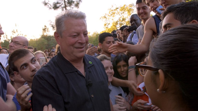 Une suite qui dérange : le temps de l'action : Photo Al Gore