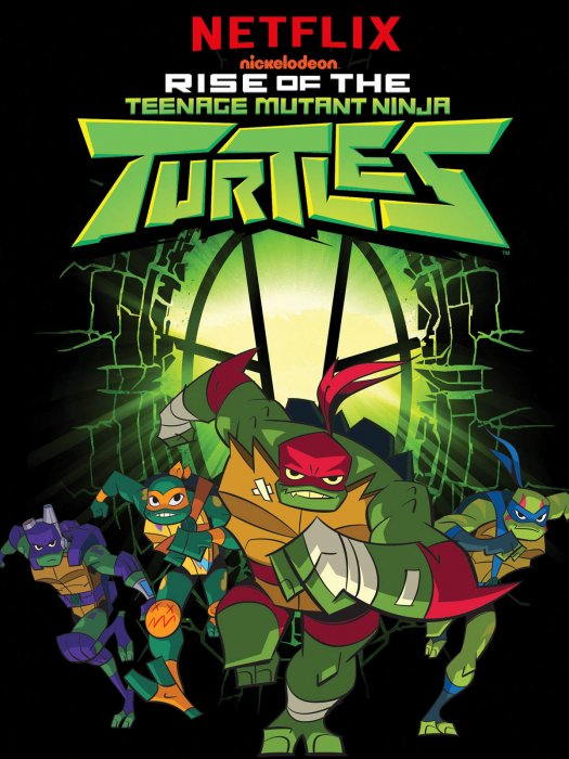 Rise Of The Teenage Mutant Ninja Turtles : Affiche