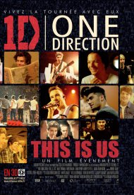 Affiche de One Direction Le Film