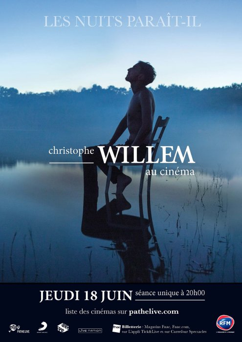 Christophe Willem (Pathé Live) : Affiche