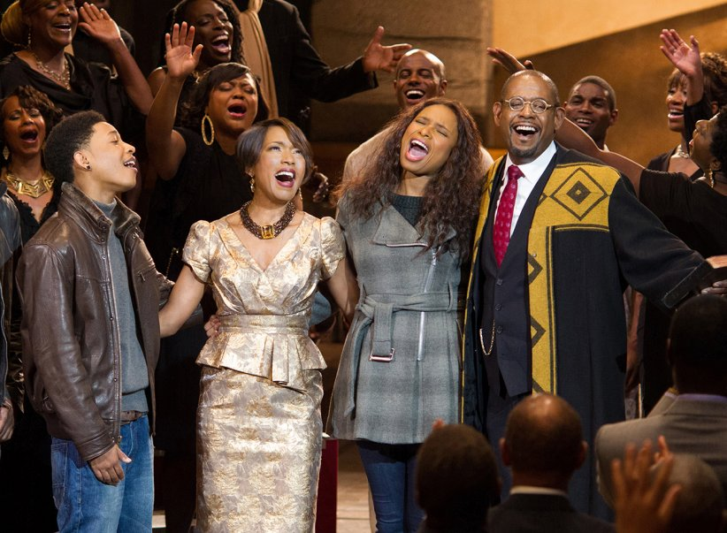 Black Nativity : Photo Angela Bassett, Forest Whitaker, Jacob Latimore, Jennifer Hudson, Nasir Jones