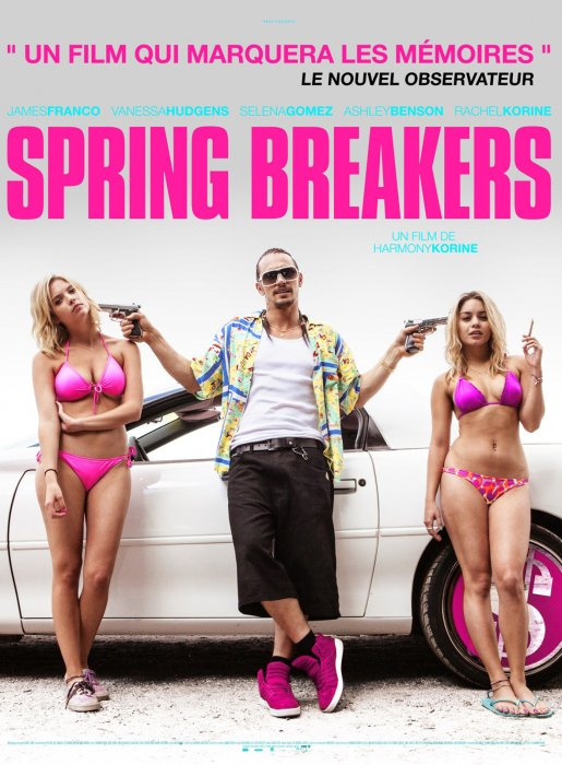Spring Breakers : Affiche