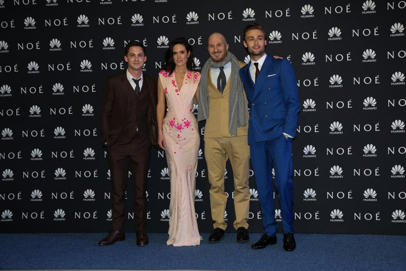 Noé : Photo promotionnelle Darren Aronofsky, Douglas Booth, Jennifer Connelly, Logan Lerman