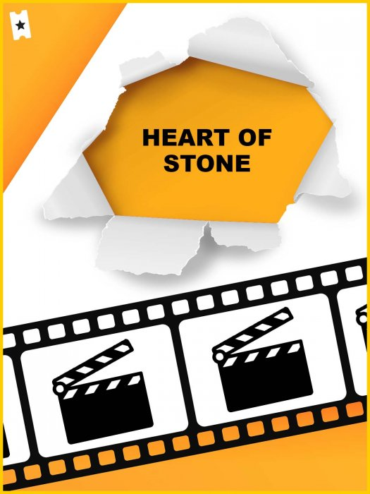 Heart of Stone : Affiche