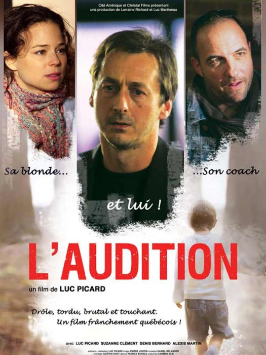 L'Audition : affiche Luc Picard