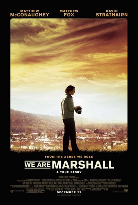 We Are Marshall : Affiche