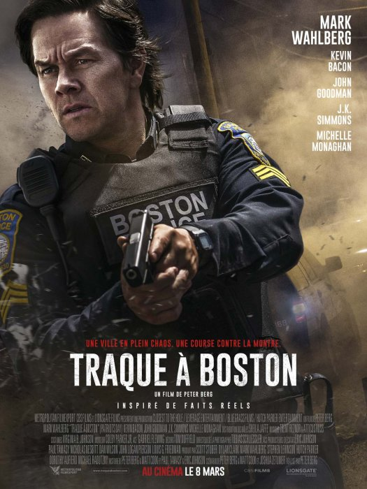 Traque à Boston : Affiche