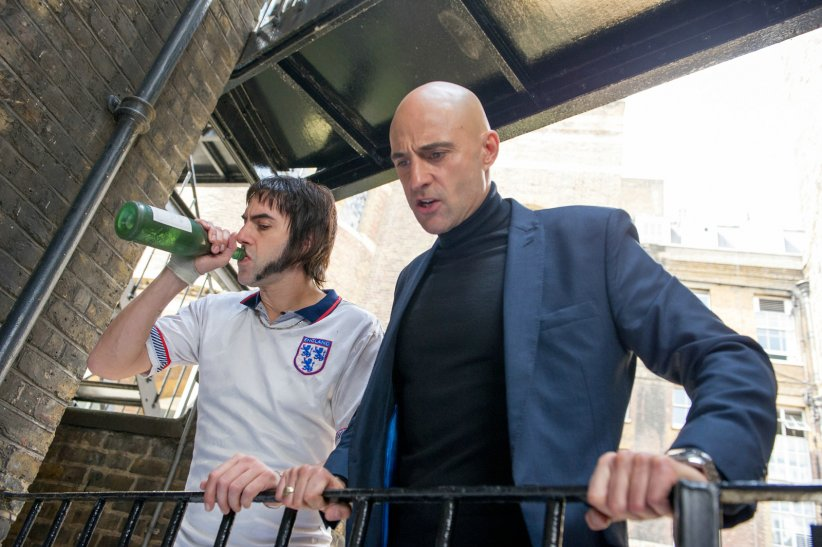 Grimsby - Agent trop spécial : Photo Mark Strong, Sacha Baron Cohen