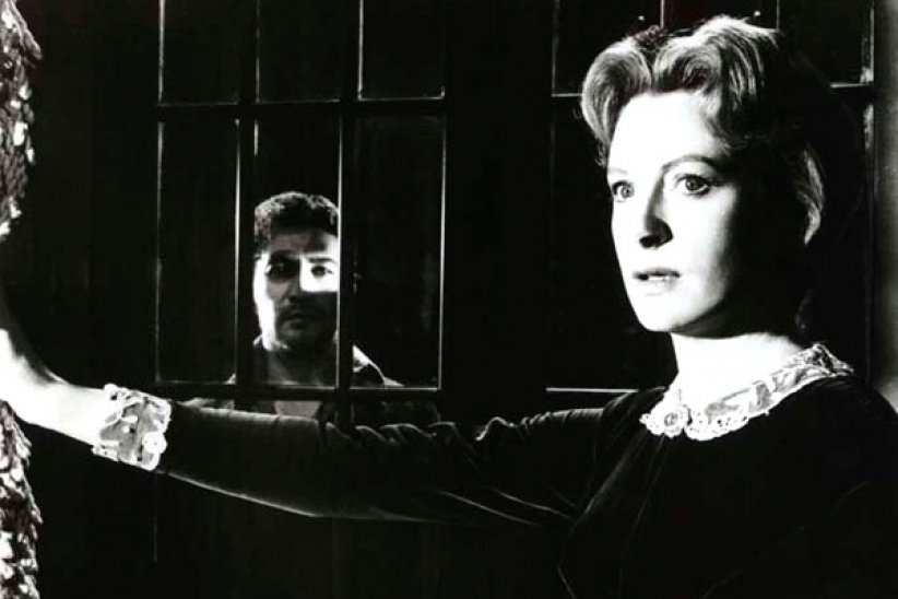Les Innocents : photo Deborah Kerr, Jack Clayton