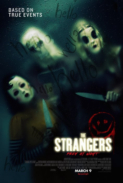 Strangers: Prey at Night : Affiche