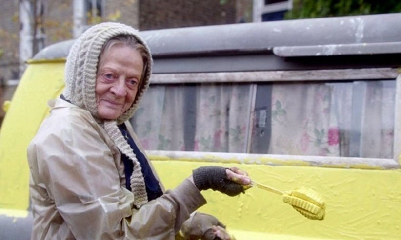 The Lady In The Van : Photo Maggie Smith