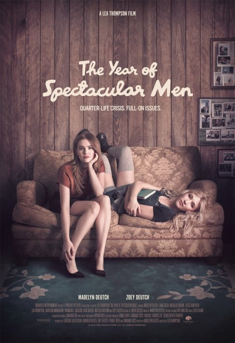 The Year of Spectacular Men : Affiche