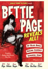 Affiche de Bettie Page Reveals All