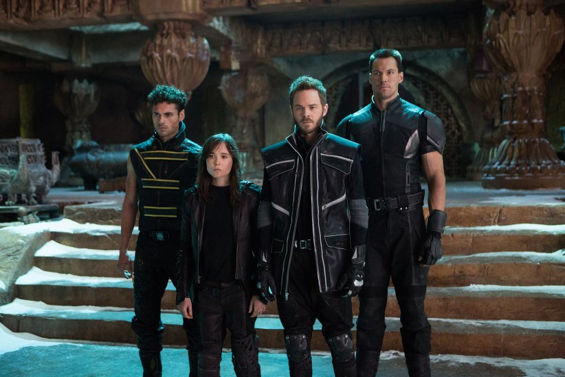 X-Men: Days of Future Past : Photo Daniel Cudmore, Ellen Page, Shawn Ashmore