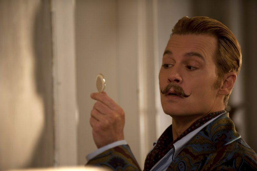 Charlie Mortdecai : Photo Johnny Depp