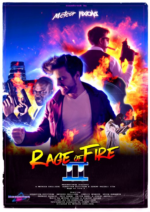 Rage Of Fire 2 : Affiche