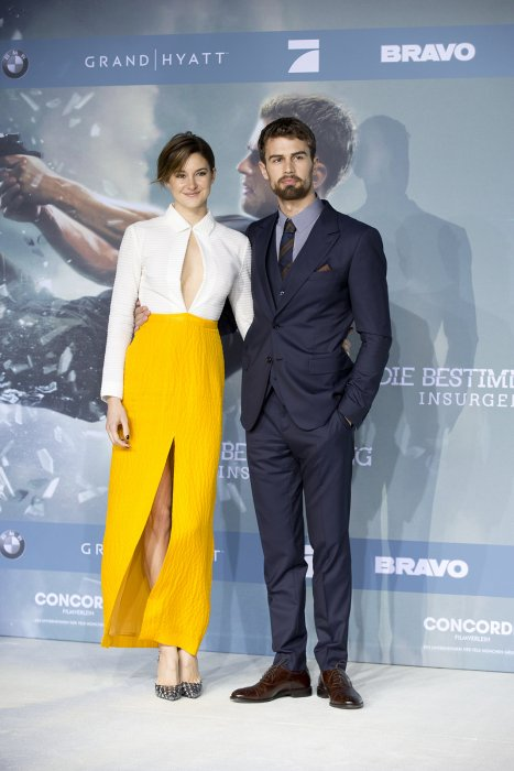 Divergente 2 : l'insurrection : Photo promotionnelle Shailene Woodley, Theo James