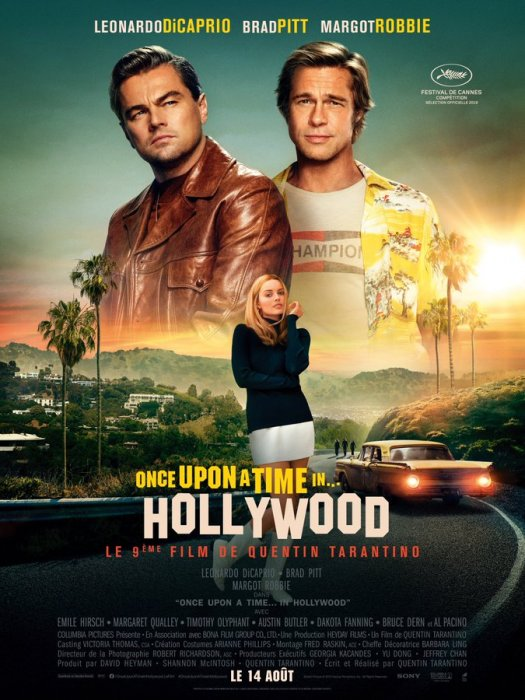 Once Upon a Time... in Hollywood : Affiche